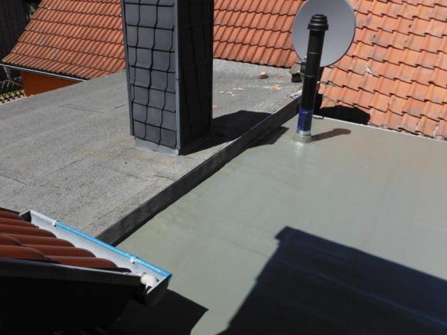 Terrasse - Abdichtung mit Flüssigkunststoff (lösemittelfrei)