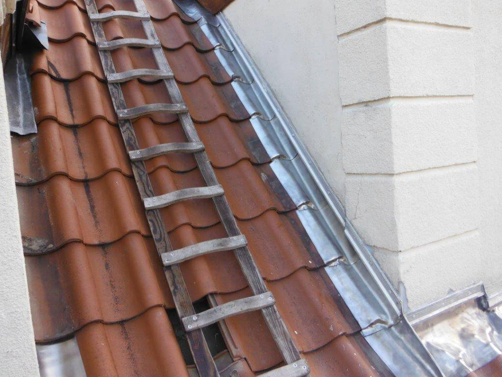 Dachklempnerarbeiten -Wandanschlüsse