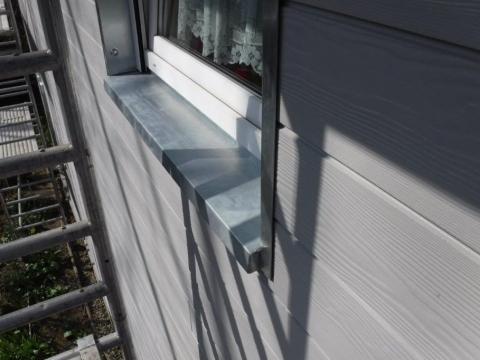 Fassadenverkleidung mit Faserzementelementen